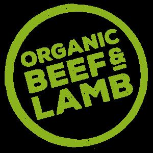 Organic beef and lamb