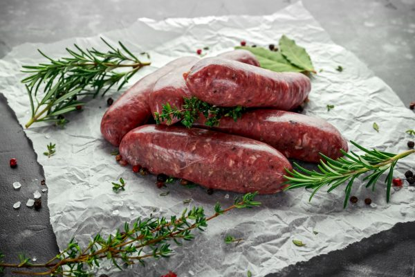 Lamb merguez sausages