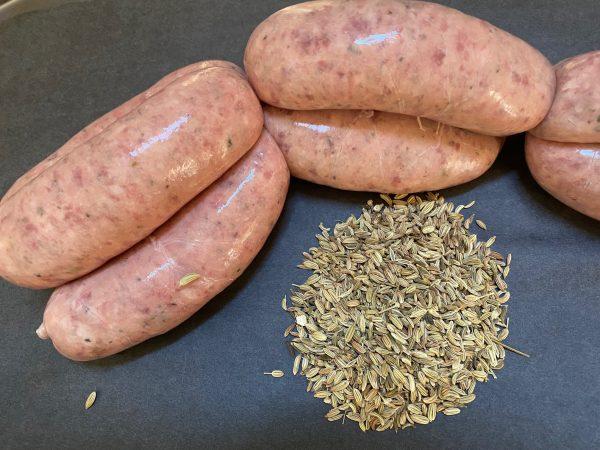 Tuscan-fennel-white-wine-pork-sausages
